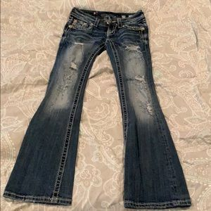 Miss me jeans size 24 boot